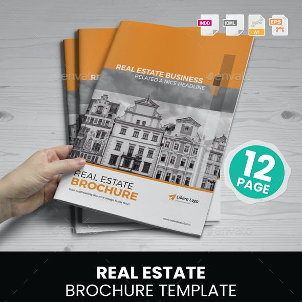 Real Estate Brochure Design v2