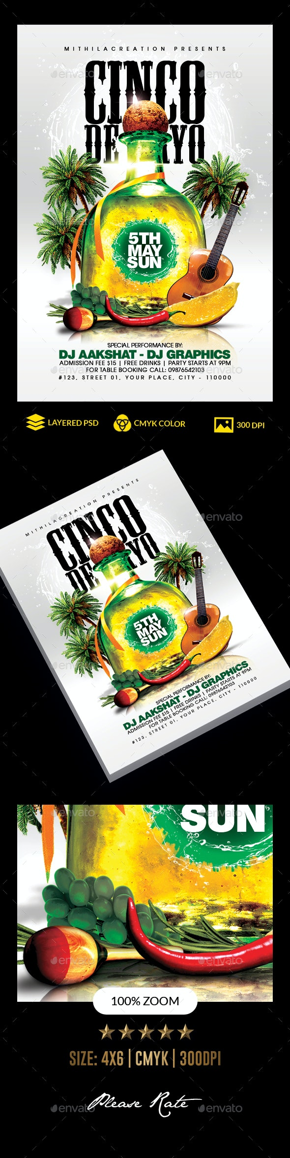 Cinco De Mayo - Clubs & Parties Events