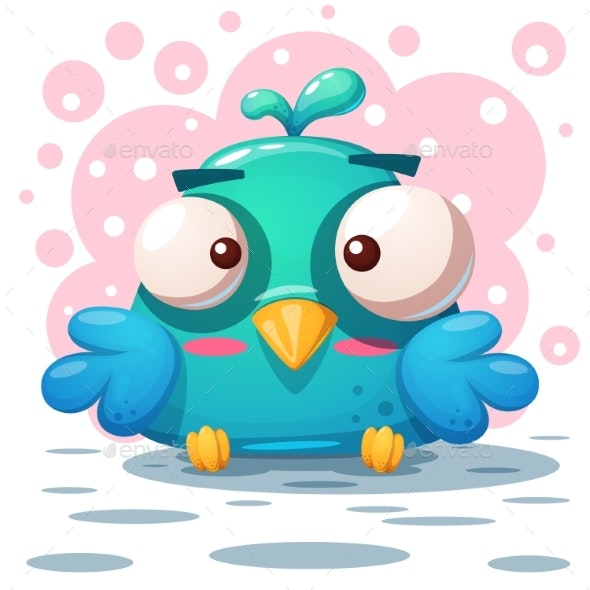 Bird Illustration - Animals Characters
