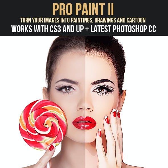 Pro Paint II Action Set