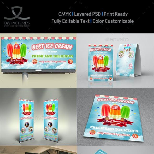 Ice Cream Advertising Bundle Vol.4