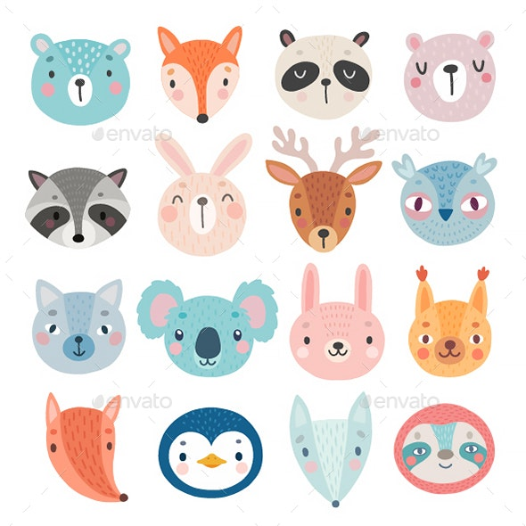 Woodland Characters - Animals Characters