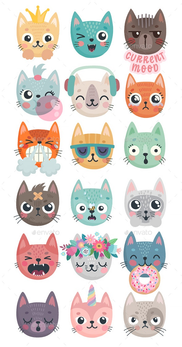Kittens - Animals Characters
