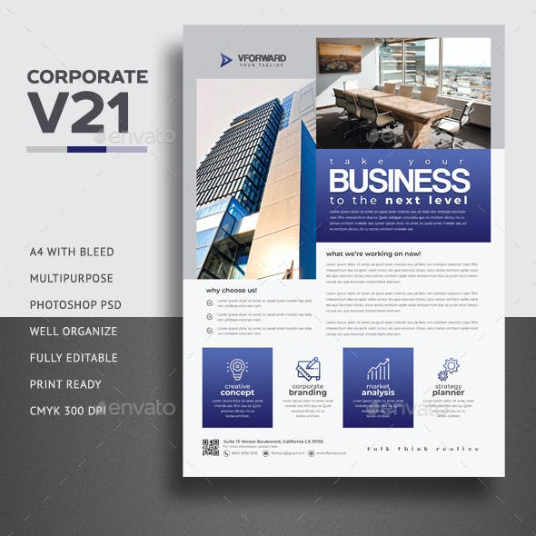 Corporate V21 Flyer