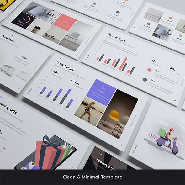 Donne - Simple & Business Template (KEY) - Creative Keynote Templates