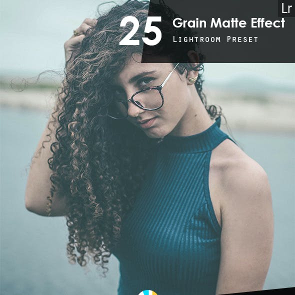 25 Grain Matte Effect Preset