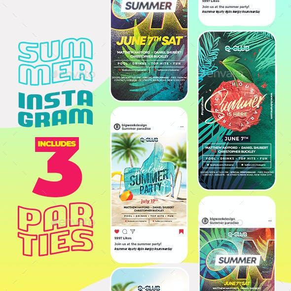 Summer Instagram