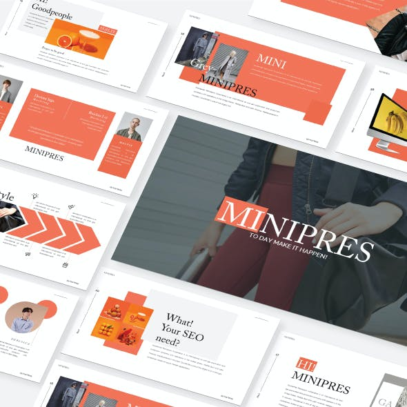 Minipres  - Google Slide Presentation Template