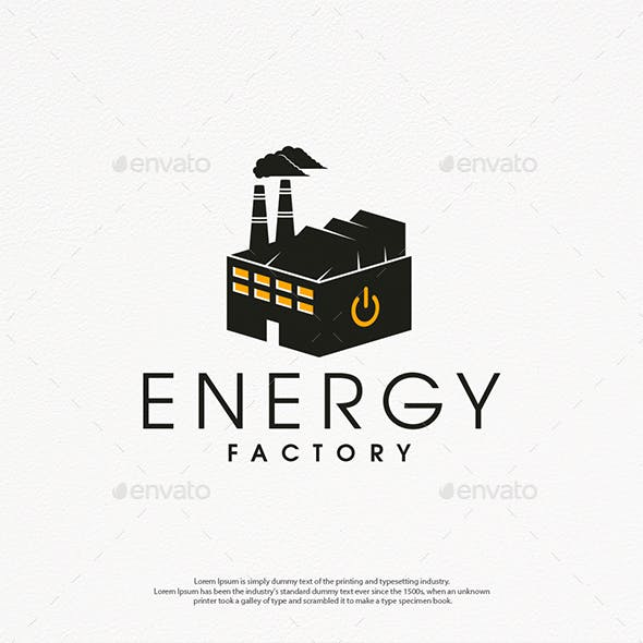 Power Factory Logo Template