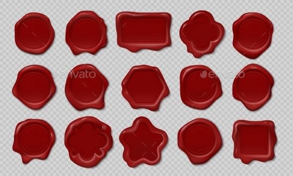 Wax Stamp - Miscellaneous Vectors