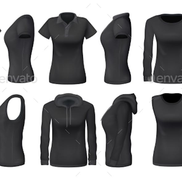 Women Black Clothes