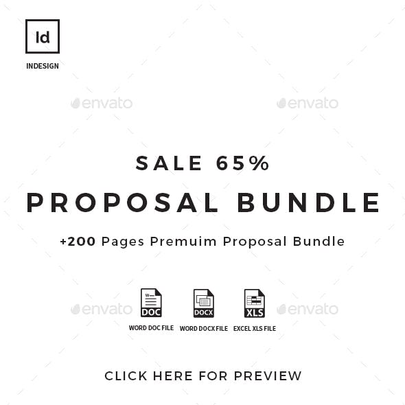 +200 Pages Bundle Full Proposal Packages A4 / US Letter