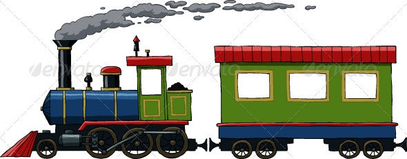 Locomotive - Man-made Objects Objects