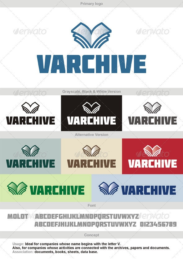 Varchive Logo - Objects Logo Templates