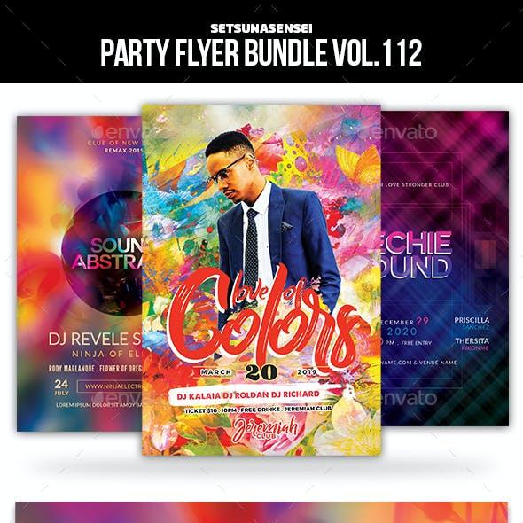 Party Flyer Bundle Vol.112