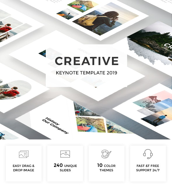 Creative Keynote Template 2019 - Creative Keynote Templates