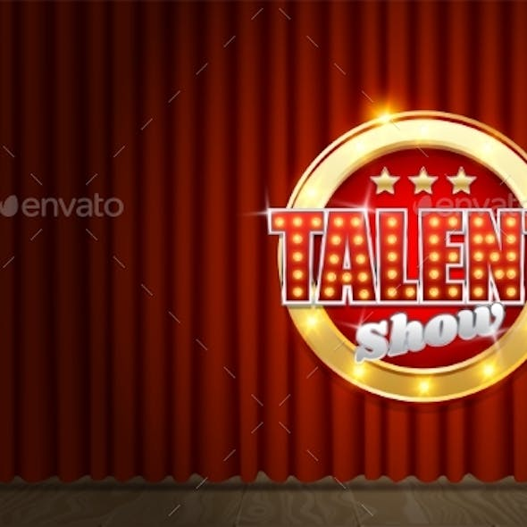 Talent Show Poster Template