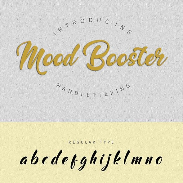 Mood Booster Font