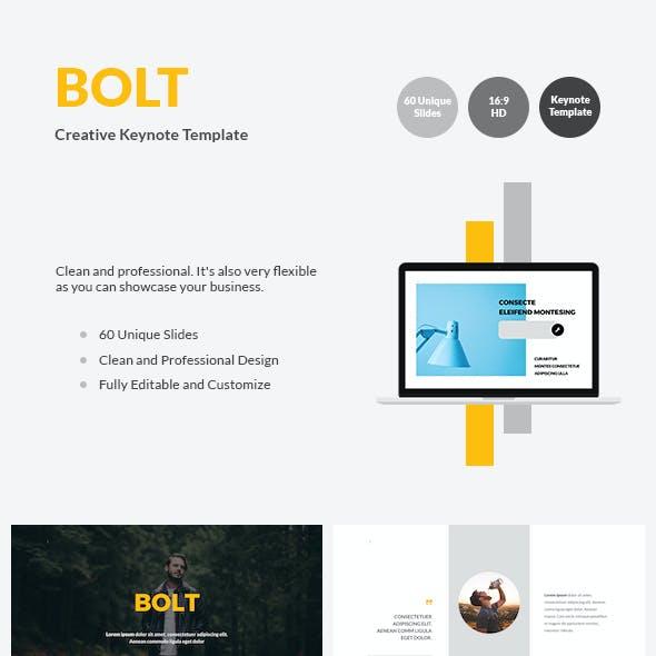 BOLT - Creative Keynote Template