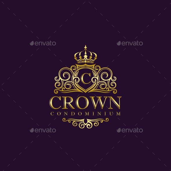 Elegant Crown Logo