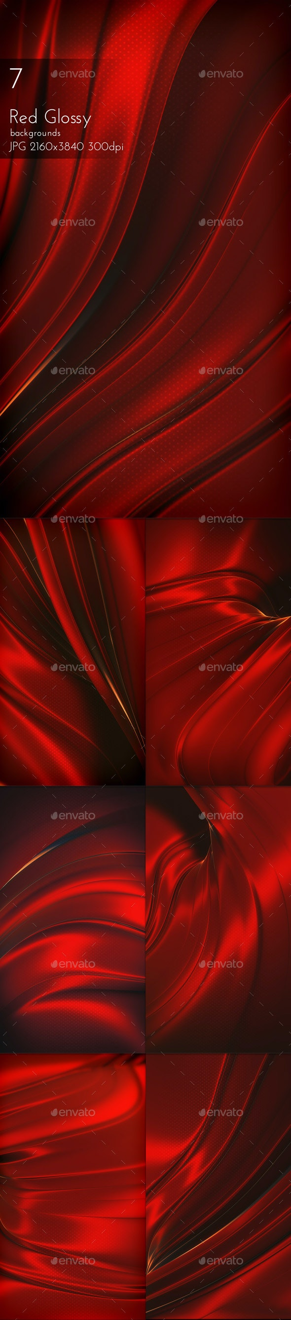 Dark Red Glossy Background - Abstract Backgrounds
