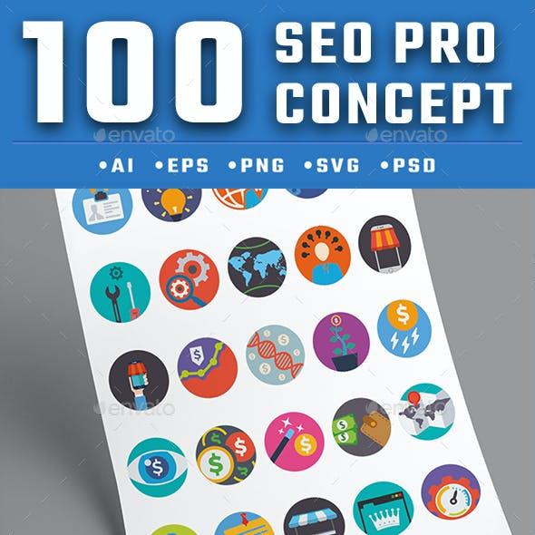 100 Seo Pro Concept