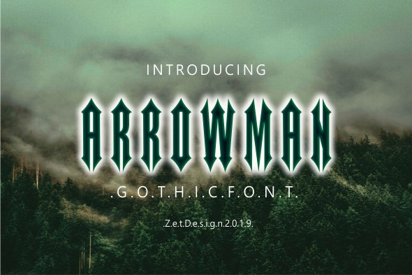 Arrowman - Gothic Decorative