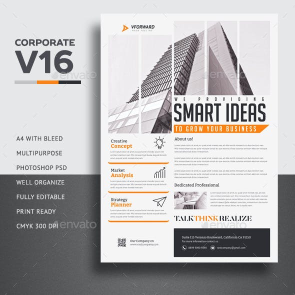 Corporate V16 Flyer