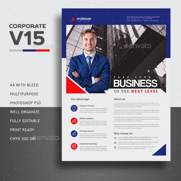 Corporate V15 Flyer