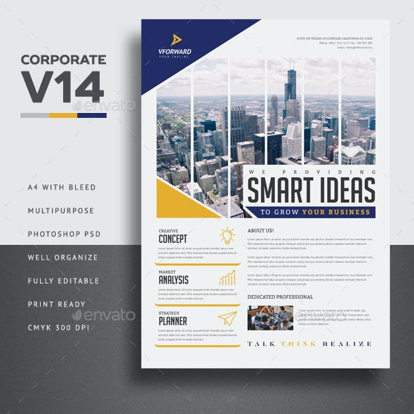 Corporate V14 Flyer