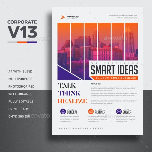 Corporate V13 Flyer
