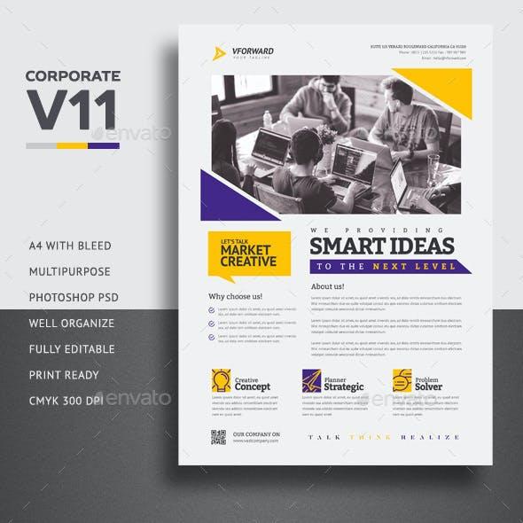 Corporate V11 Flyer