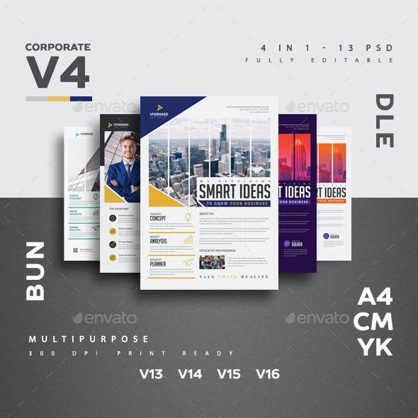 Corporate V4 Flyer Bundle