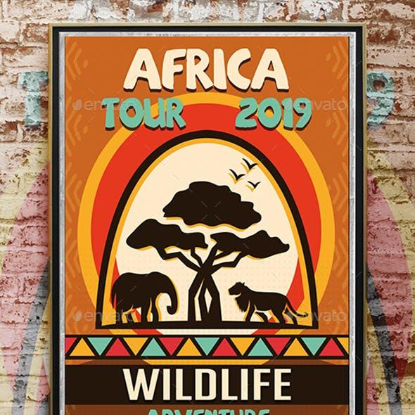 Africa Adventure Flyer