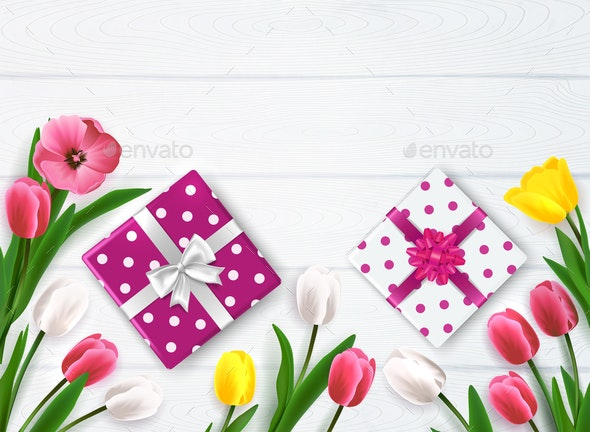 Presents For Mothers Composition - Miscellaneous Seasons/Holidays