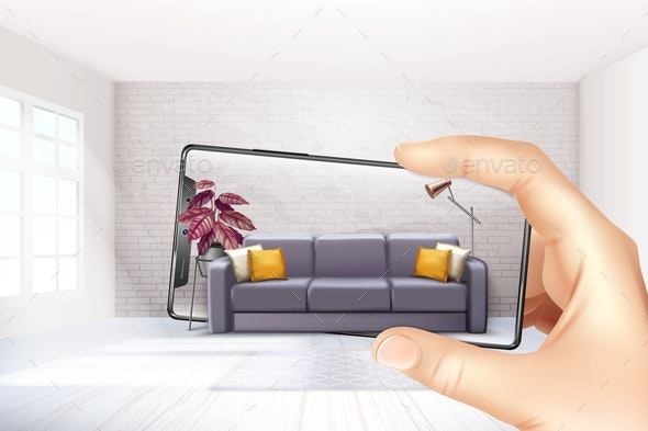 Smartphone Augmented Reality Composition - Media Technology