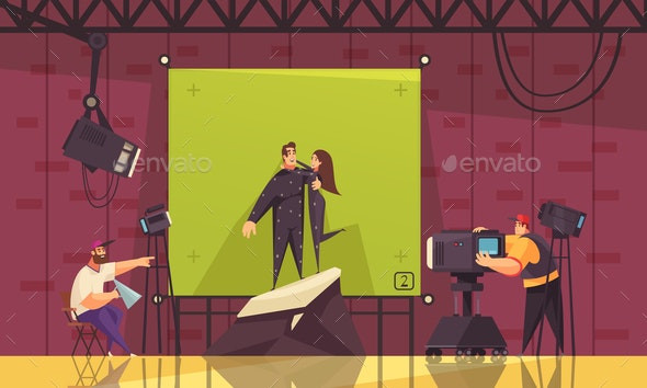 Fantasy Movie Shooting Composition - Industries Business