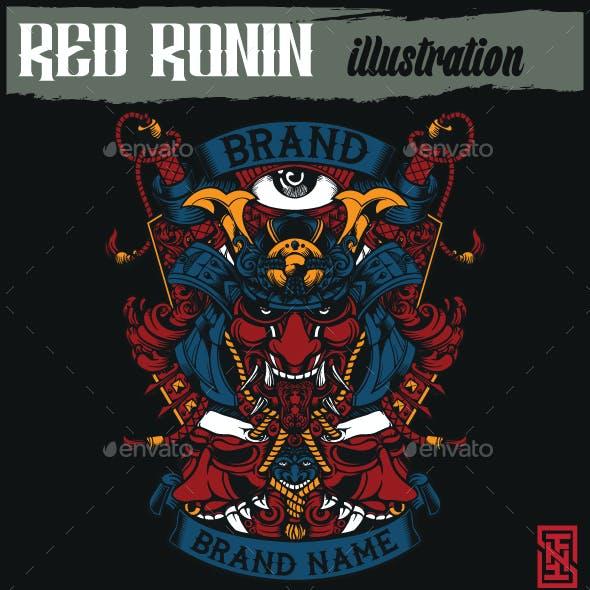 Red Ronin Illustration