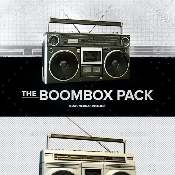 Boombox Renders