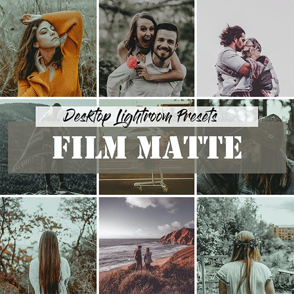Presets Film Graphics, Designs & Templates from GraphicRiver