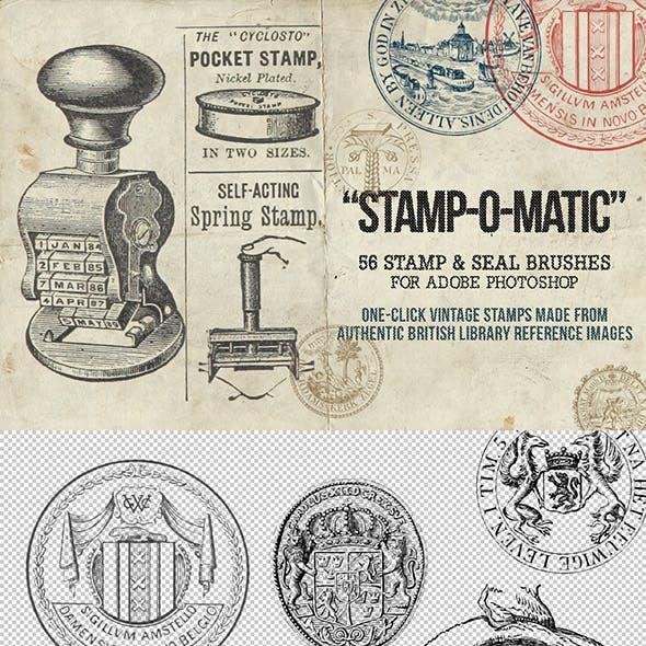 Stamp-O-Matic: Vintage Stamp & Seal Brushes
