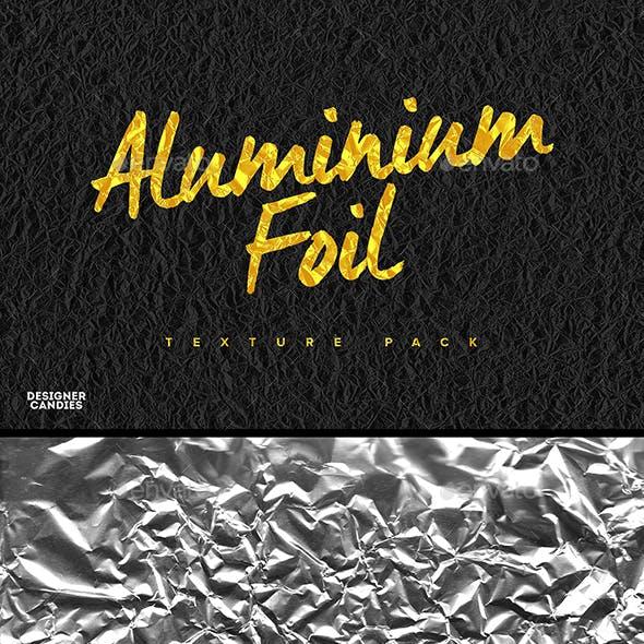 Aluminium Foil Textures Pack
