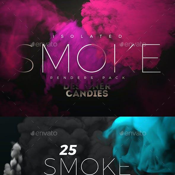 Transparent Smoke PNG Renders Pack
