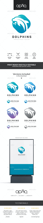 Dolphin Logo - Animals Logo Templates