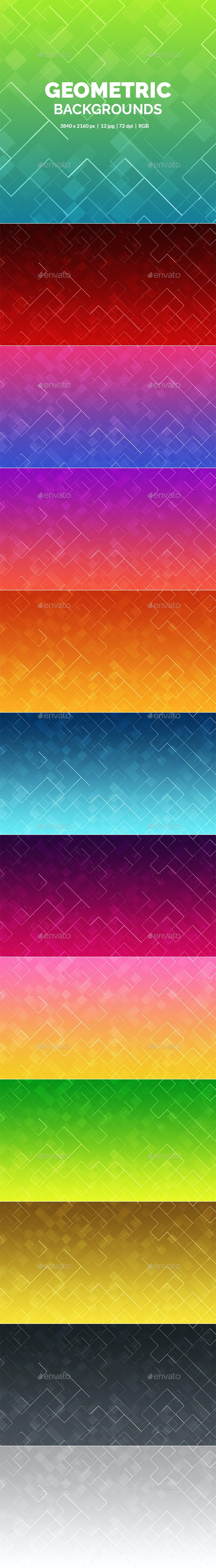 Geometric Backgrounds - Backgrounds Graphics