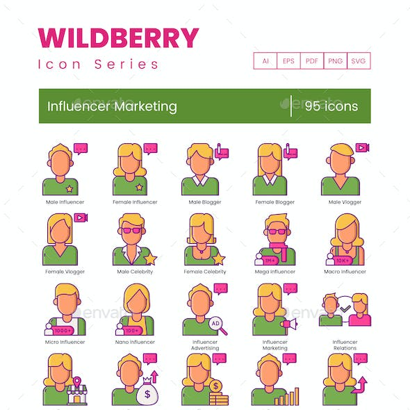 Influencer Icons - Wildberry Series