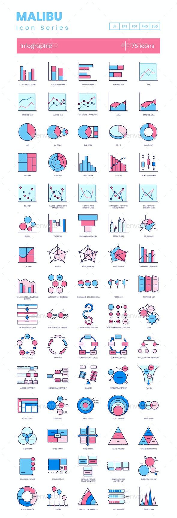 Infographic Icons - Malibu Series - Business Icons