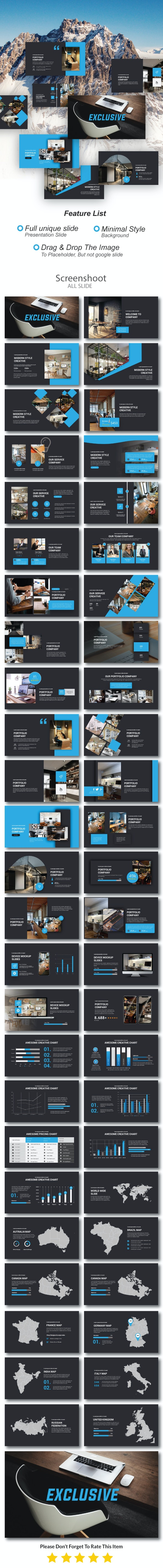 Exclusive Business Keynote - Business Keynote Templates