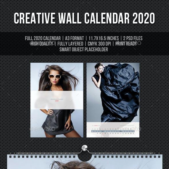 Creative Wall Calendar 2020 V16