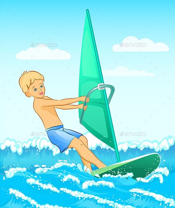 Windsurfer - People Characters